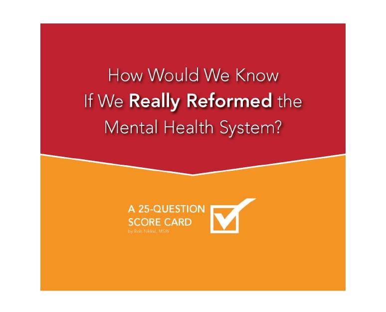 System Reform Scorecard